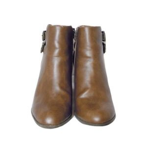 Charlotte Russe Brown Ankle Boots